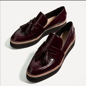 Zara Platform Tassel Loafers The Perfect Fall Shoe